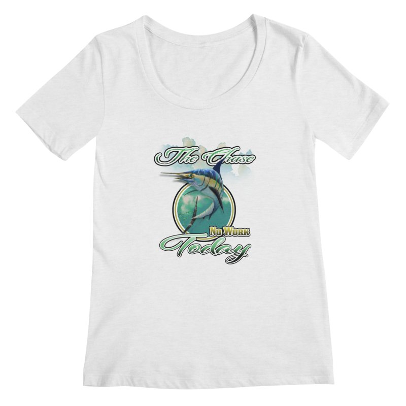 The Chase Women's Scoopneck by psweetsdesign's Artist Shop