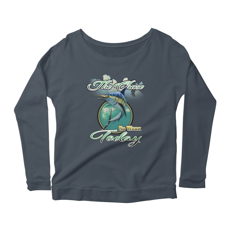 The Chase Women's Longsleeve Scoopneck  by psweetsdesign's Artist Shop