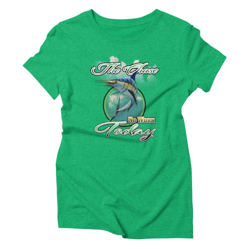 The Chase Women's Triblend T-shirt by psweetsdesign's Artist Shop