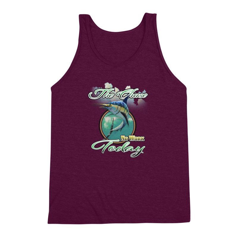 The Chase Men's Triblend Tank by psweetsdesign's Artist Shop