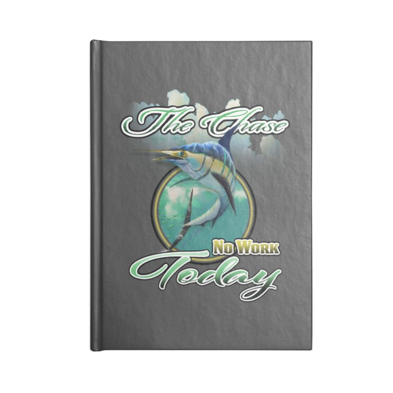 The Chase Accessories Blank Journal Notebook by psweetsdesign's Artist Shop