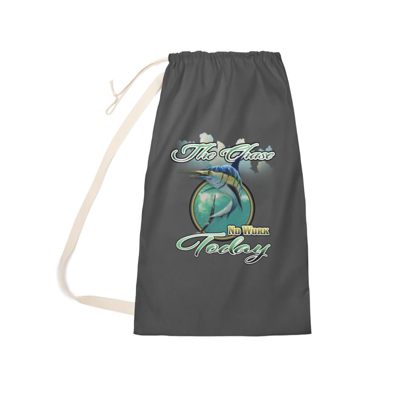 The Chase Accessories Laundry Bag Bag by psweetsdesign's Artist Shop