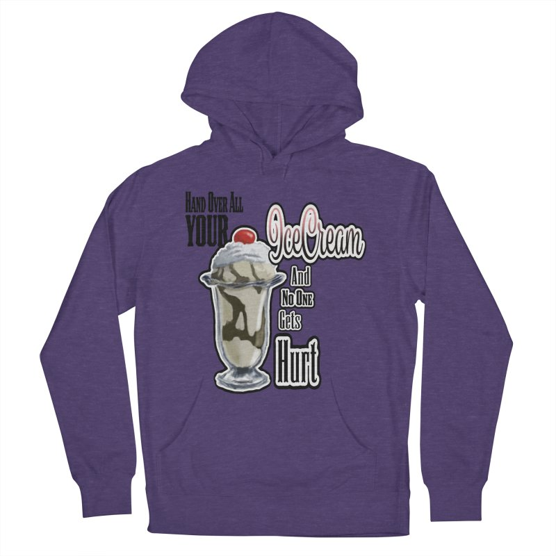 Ice Cream Women's French Terry Pullover Hoody by psweetsdesign's Artist Shop