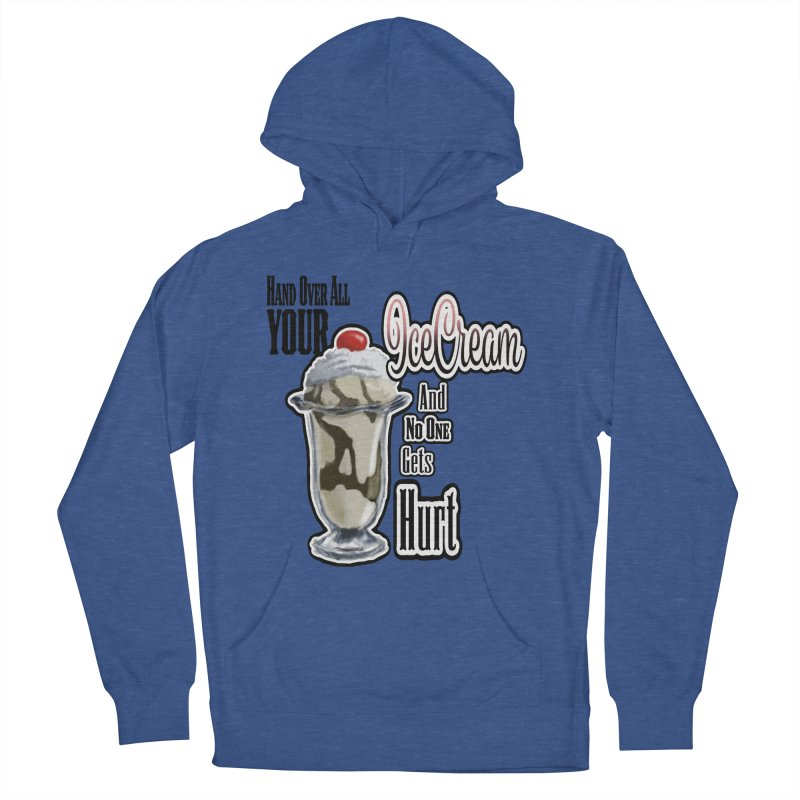 Ice Cream Men's French Terry Pullover Hoody by psweetsdesign's Artist Shop