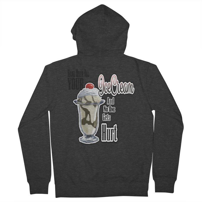 Ice Cream Men's Zip-Up Hoody by psweetsdesign's Artist Shop