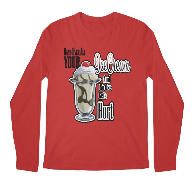 Ice Cream Men's Regular Longsleeve T-Shirt by psweetsdesign's Artist Shop