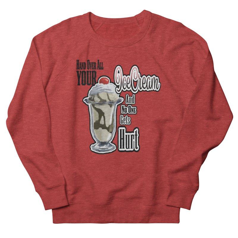 Ice Cream Men's French Terry Sweatshirt by psweetsdesign's Artist Shop