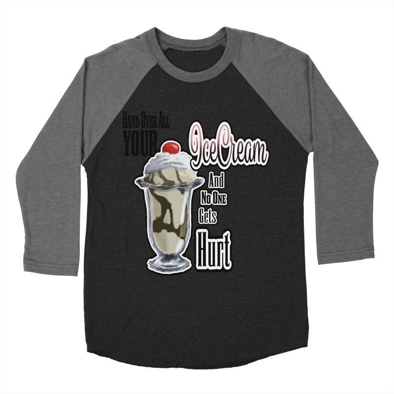 Ice Cream Men's Baseball Triblend T-Shirt by psweetsdesign's Artist Shop