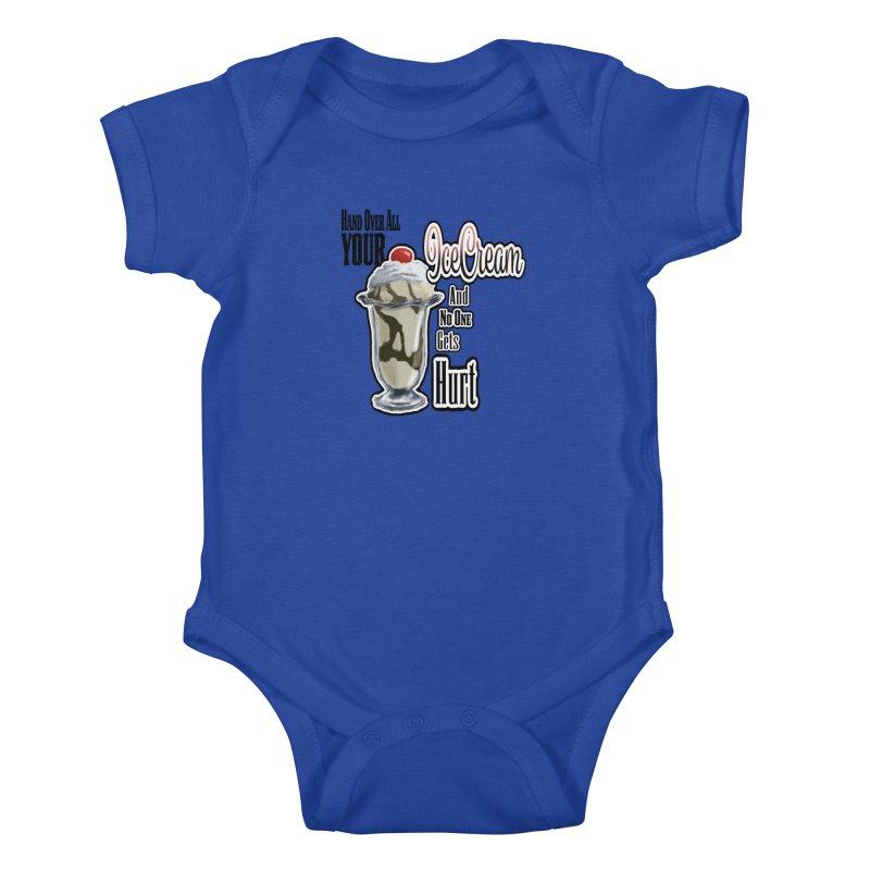 Ice Cream Kids Baby Bodysuit by psweetsdesign's Artist Shop
