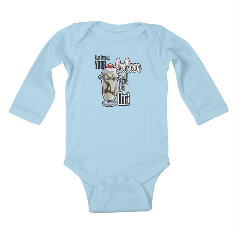 Ice Cream Kids Baby Longsleeve Bodysuit by psweetsdesign's Artist Shop