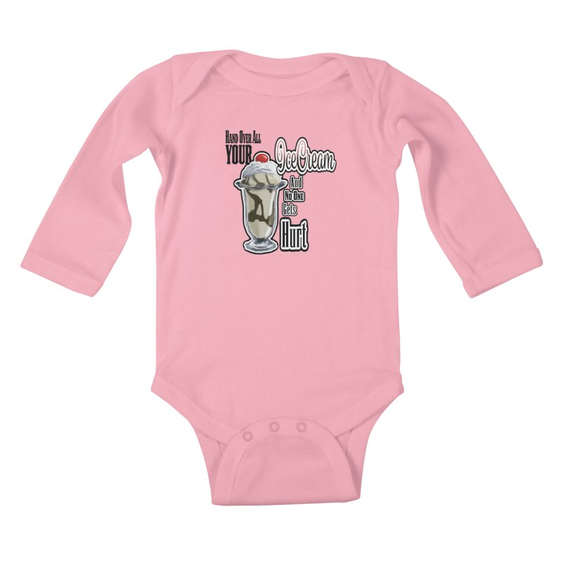 Ice Cream Kids Baby Longsleeve Bodysuit by psweetsdesign's Artist Shop
