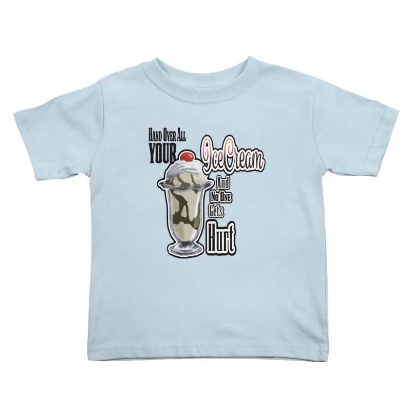 Ice Cream Kids Toddler T-Shirt by psweetsdesign's Artist Shop