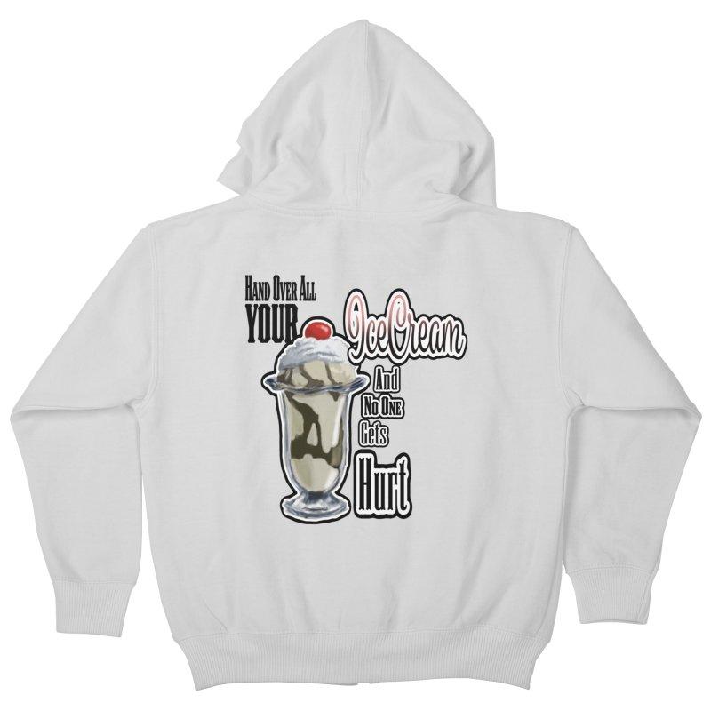 Ice Cream Kids Zip-Up Hoody by psweetsdesign's Artist Shop