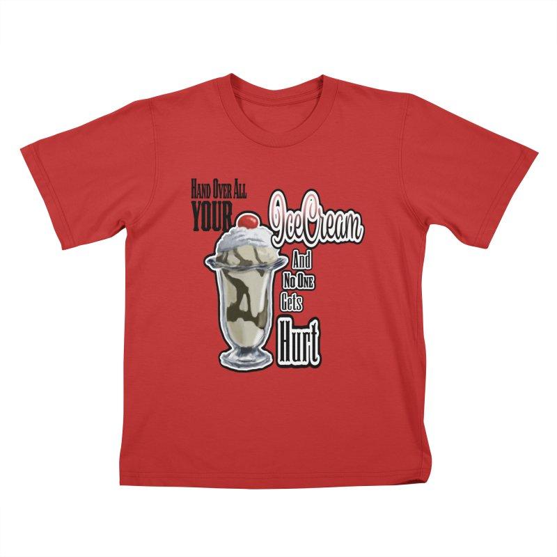 Ice Cream Kids T-Shirt by psweetsdesign's Artist Shop