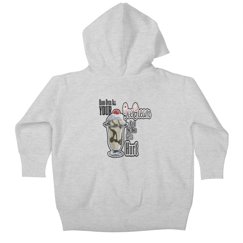 Ice Cream Kids Baby Zip-Up Hoody by psweetsdesign's Artist Shop