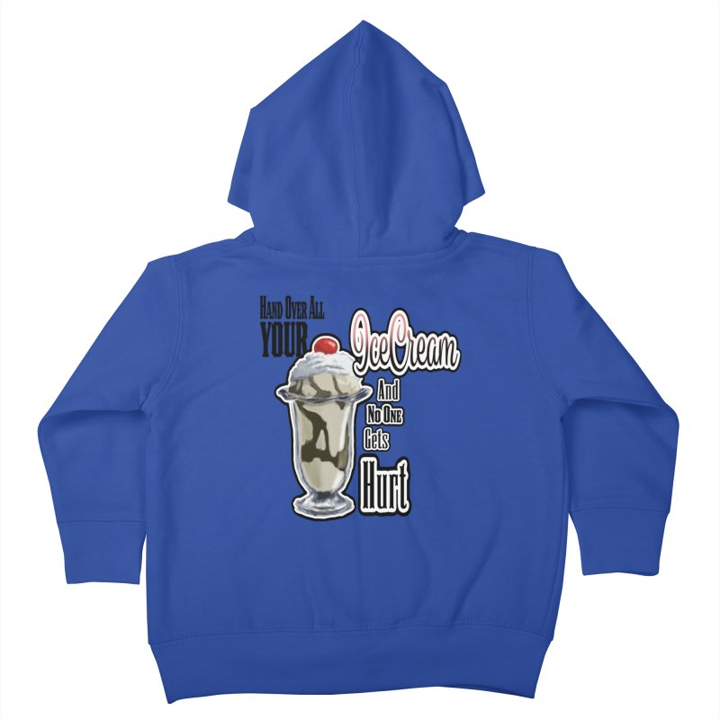 Ice Cream Kids Toddler Zip-Up Hoody by psweetsdesign's Artist Shop