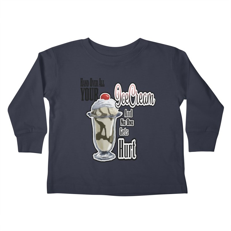 Ice Cream Kids Toddler Longsleeve T-Shirt by psweetsdesign's Artist Shop