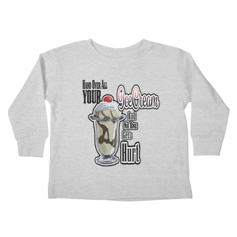 Ice Cream Kids Toddler Longsleeve T-Shirt by psweetsdesign's Artist Shop