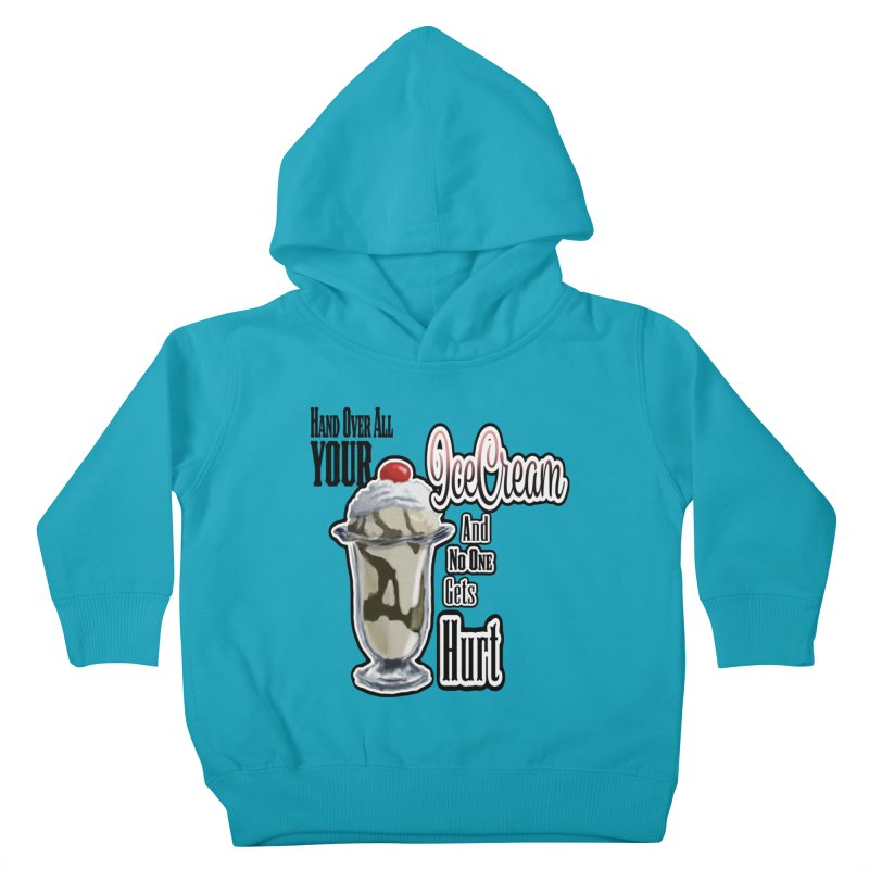 Ice Cream Kids Toddler Pullover Hoody by psweetsdesign's Artist Shop