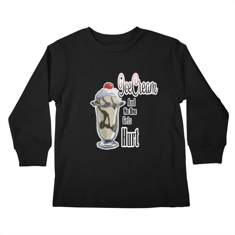 Ice Cream Kids Longsleeve T-Shirt by psweetsdesign's Artist Shop