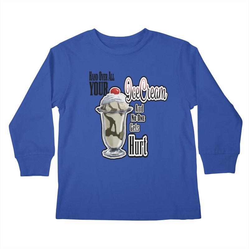 Ice Cream Kids Longsleeve T-Shirt by psweetsdesign's Artist Shop