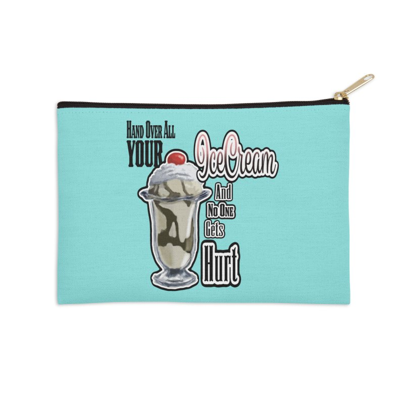 Ice Cream Accessories Zip Pouch by psweetsdesign's Artist Shop