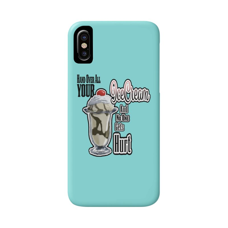 Ice Cream Accessories Phone Case by psweetsdesign's Artist Shop
