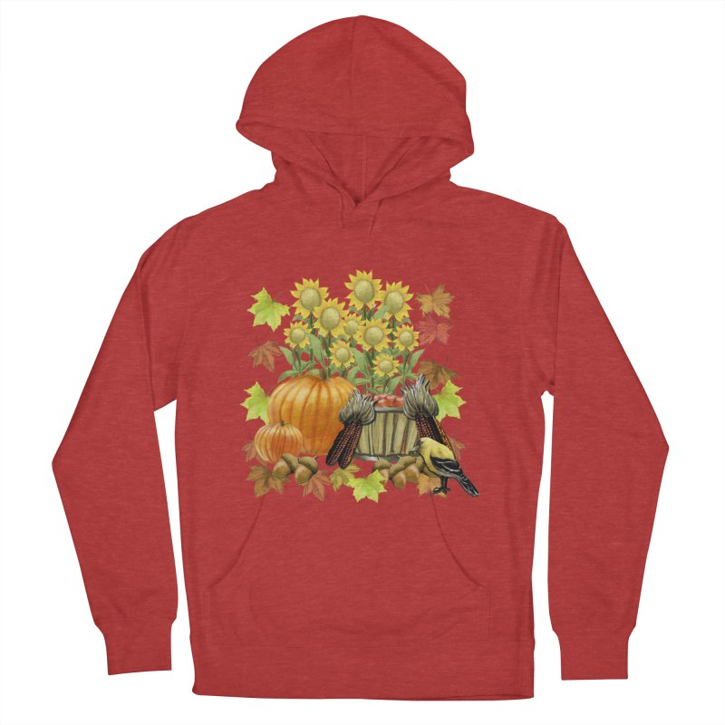 Harvest Women's French Terry Pullover Hoody by psweetsdesign's Artist Shop