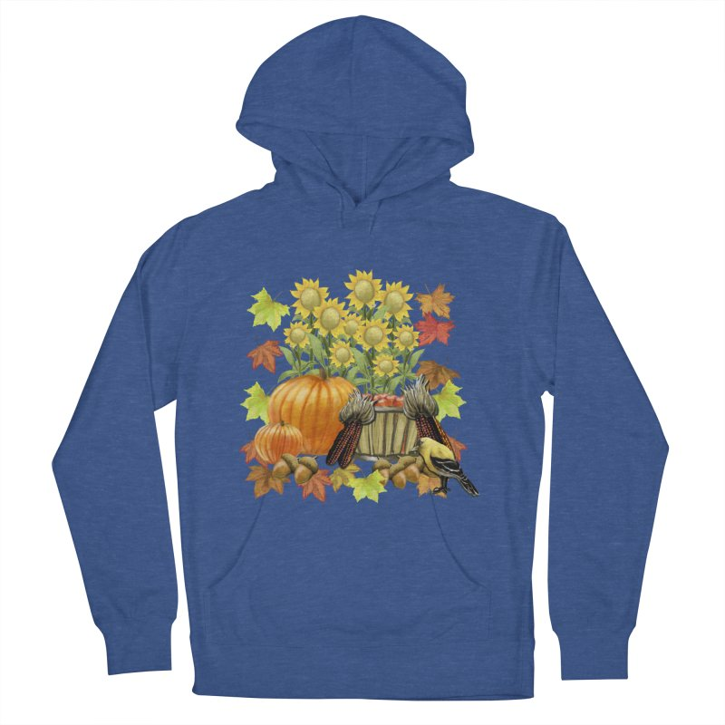 Harvest Men's French Terry Pullover Hoody by psweetsdesign's Artist Shop