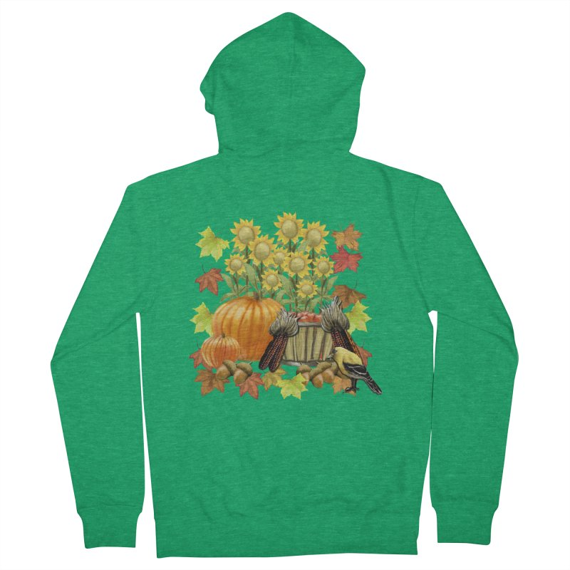 Harvest Men's Zip-Up Hoody by psweetsdesign's Artist Shop