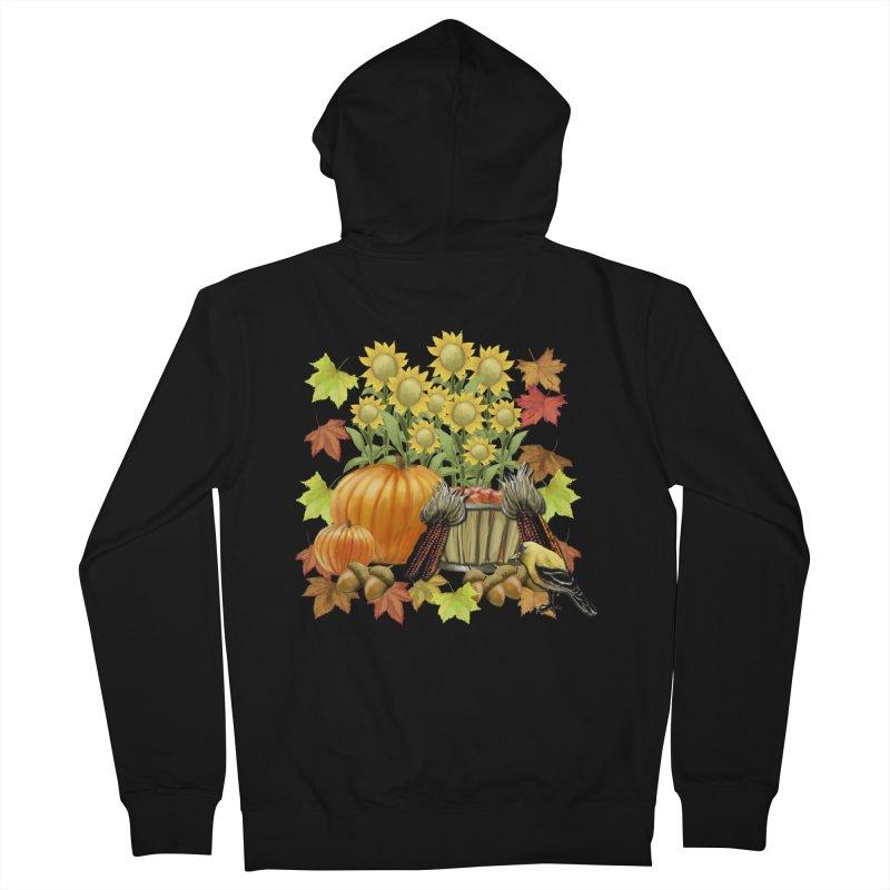 Harvest Men's Zip-Up Hoody by psweetsdesign's Artist Shop