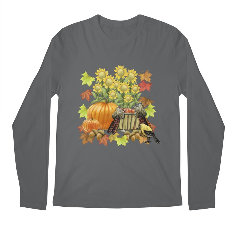Harvest Men's Longsleeve T-Shirt by psweetsdesign's Artist Shop