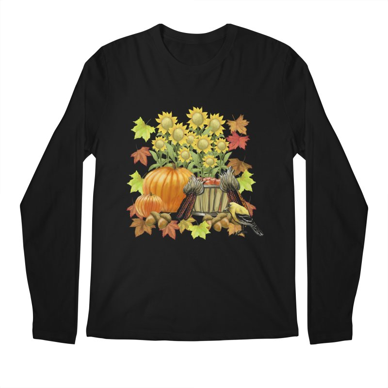 Harvest Men's Regular Longsleeve T-Shirt by psweetsdesign's Artist Shop