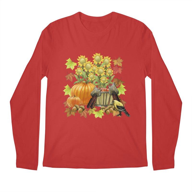 Harvest Men's Regular Longsleeve T-Shirt by psweetsdesign's Artist Shop