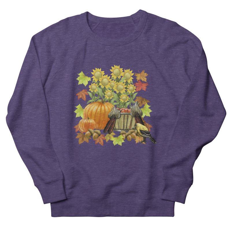 Harvest Women's French Terry Sweatshirt by psweetsdesign's Artist Shop