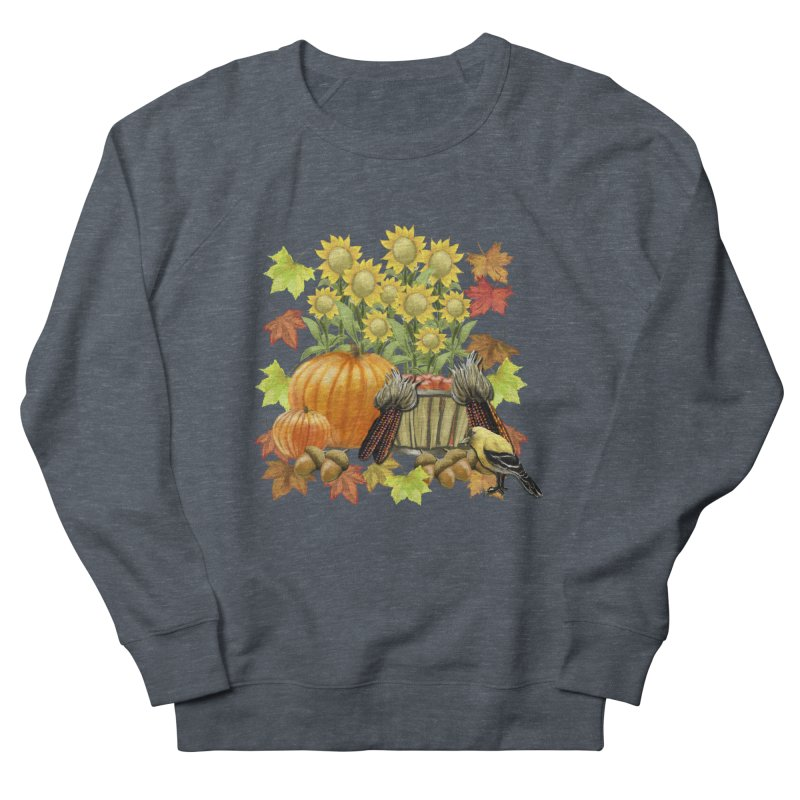 Harvest Men's French Terry Sweatshirt by psweetsdesign's Artist Shop