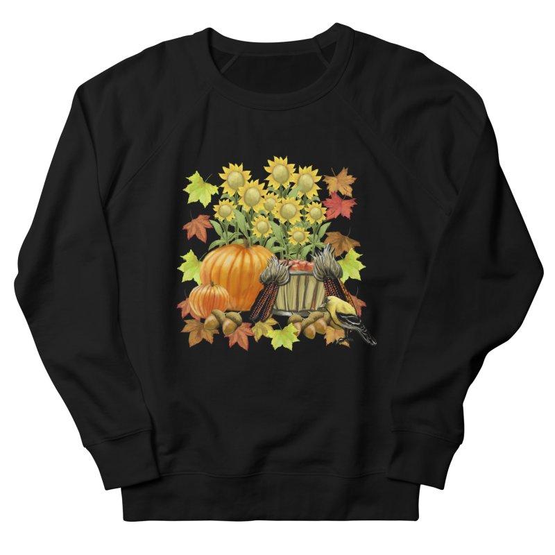 Harvest Men's French Terry Sweatshirt by psweetsdesign's Artist Shop