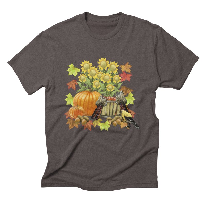 Harvest Men's Triblend T-Shirt by psweetsdesign's Artist Shop
