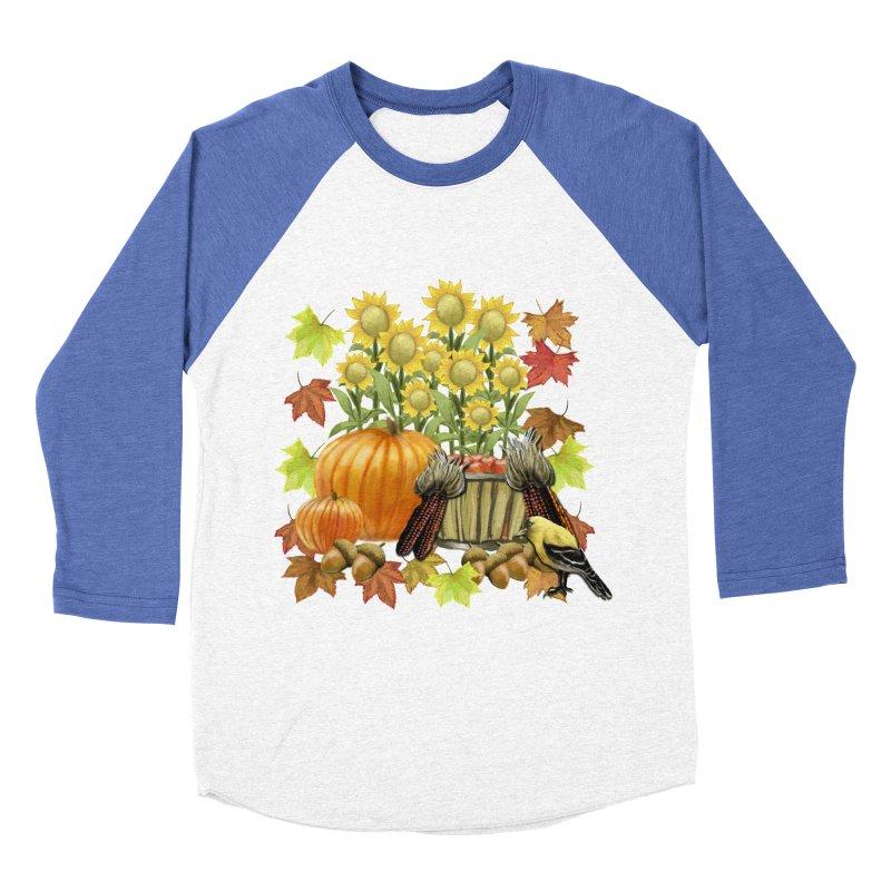 Harvest Women's Baseball Triblend Longsleeve T-Shirt by psweetsdesign's Artist Shop