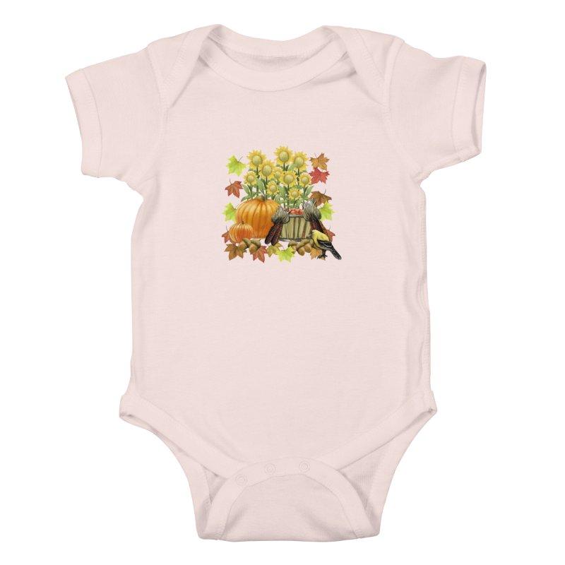 Harvest Kids Baby Bodysuit by psweetsdesign's Artist Shop