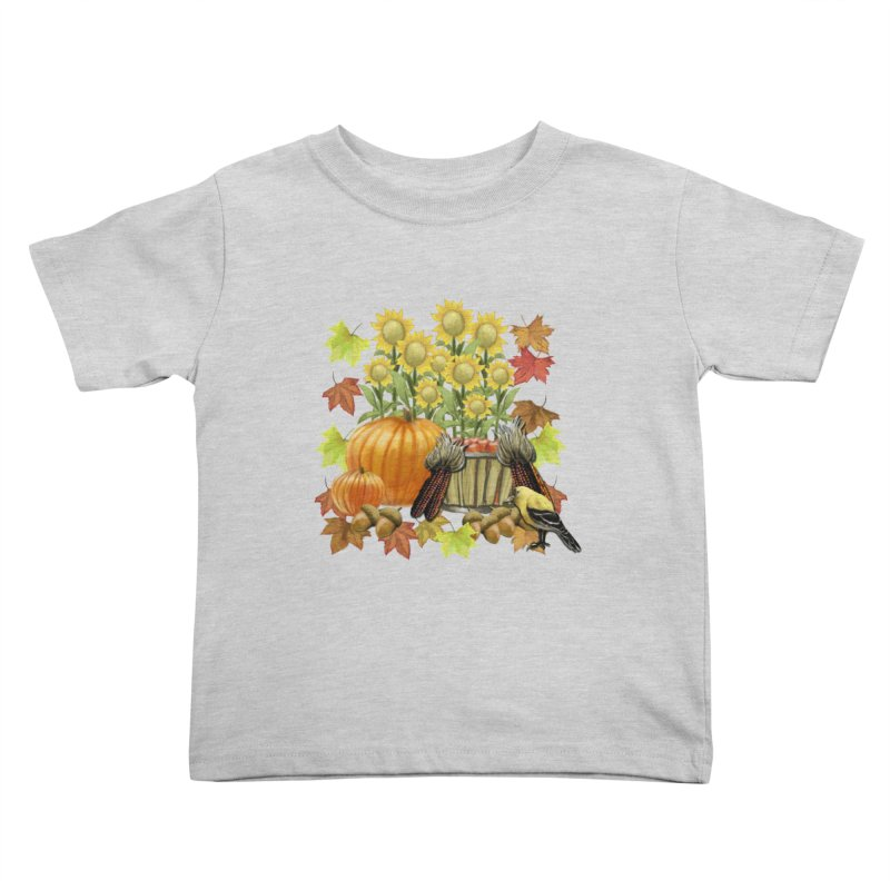 Harvest Kids Toddler T-Shirt by psweetsdesign's Artist Shop