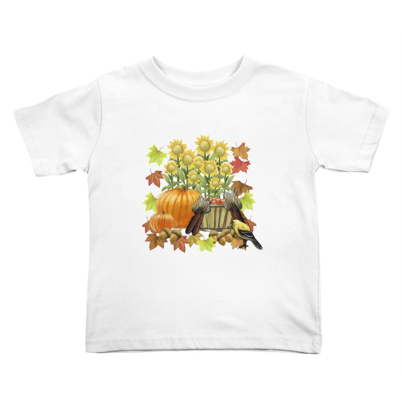 Harvest Kids Toddler T-Shirt by psweetsdesign's Artist Shop