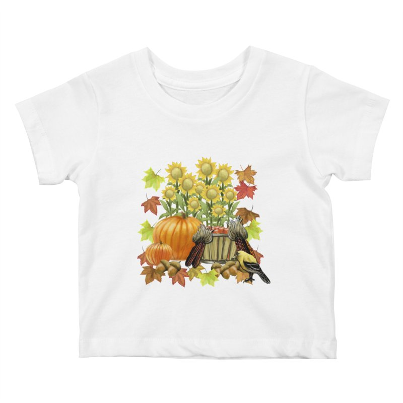 Harvest Kids Baby T-Shirt by psweetsdesign's Artist Shop