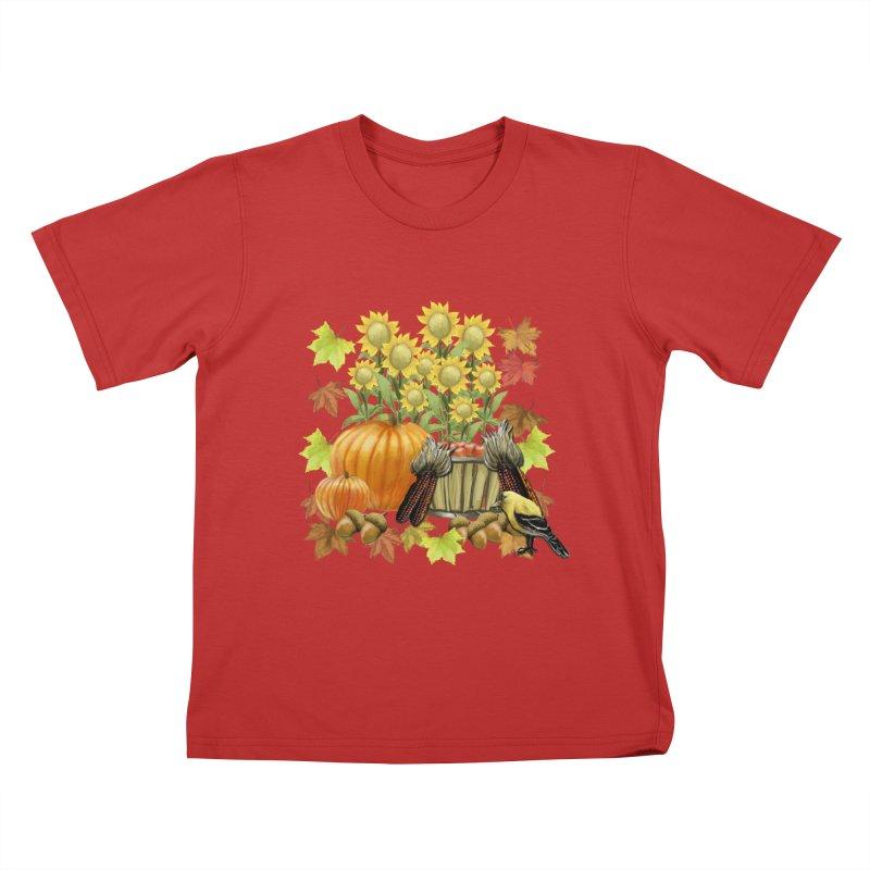Harvest Kids T-Shirt by psweetsdesign's Artist Shop