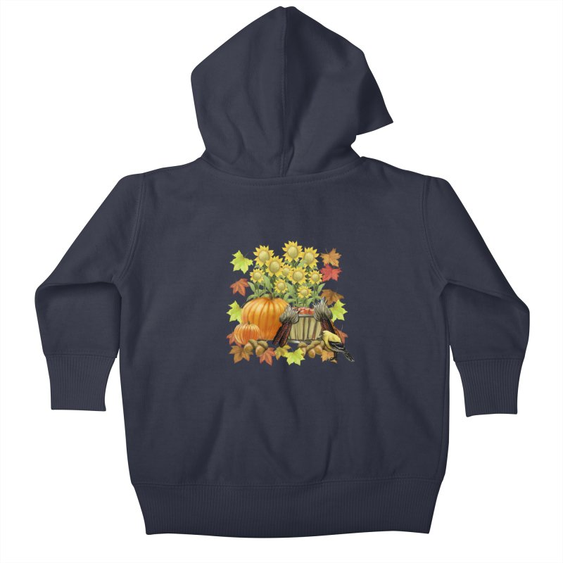 Harvest Kids Baby Zip-Up Hoody by psweetsdesign's Artist Shop