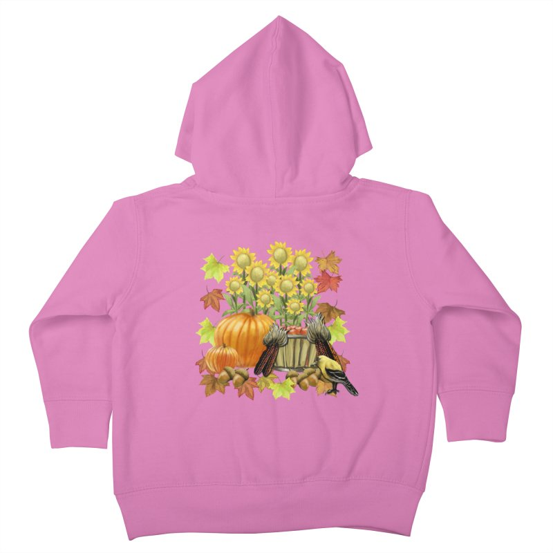 Harvest Kids Toddler Zip-Up Hoody by psweetsdesign's Artist Shop