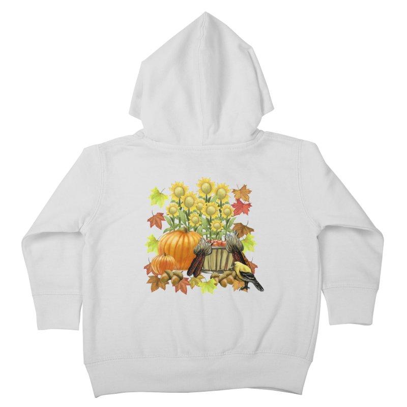 Harvest Kids Toddler Zip-Up Hoody by psweetsdesign's Artist Shop