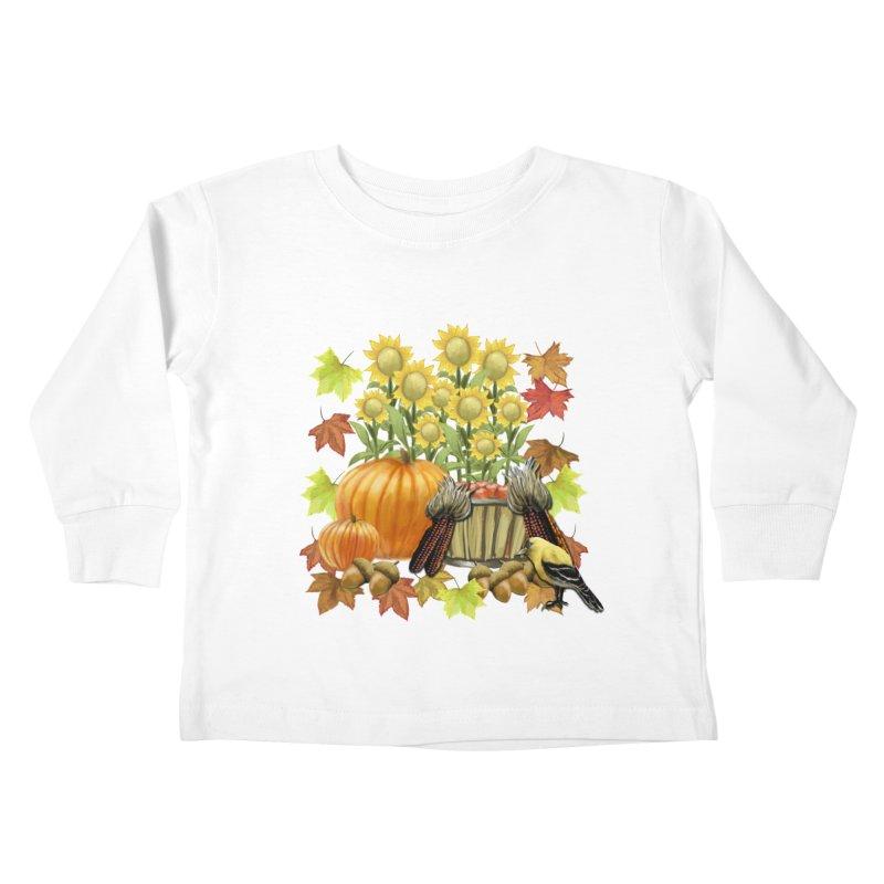 Harvest Kids Toddler Longsleeve T-Shirt by psweetsdesign's Artist Shop