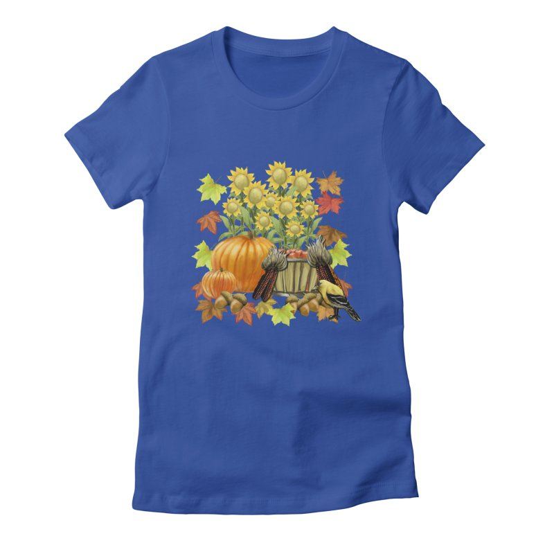Harvest Women's Fitted T-Shirt by psweetsdesign's Artist Shop