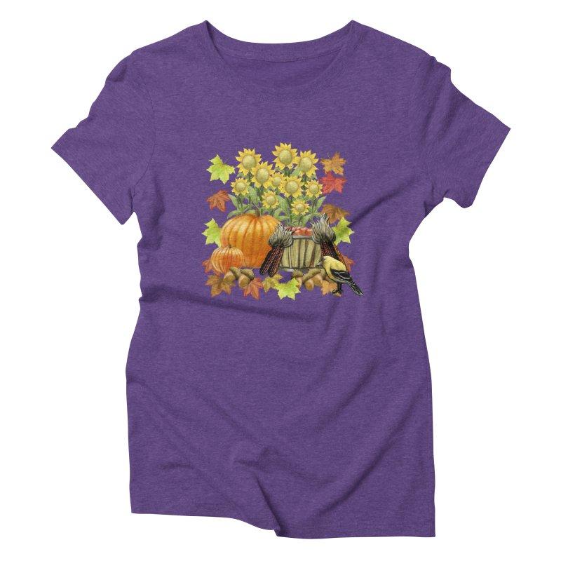 Harvest Women's Triblend T-Shirt by psweetsdesign's Artist Shop